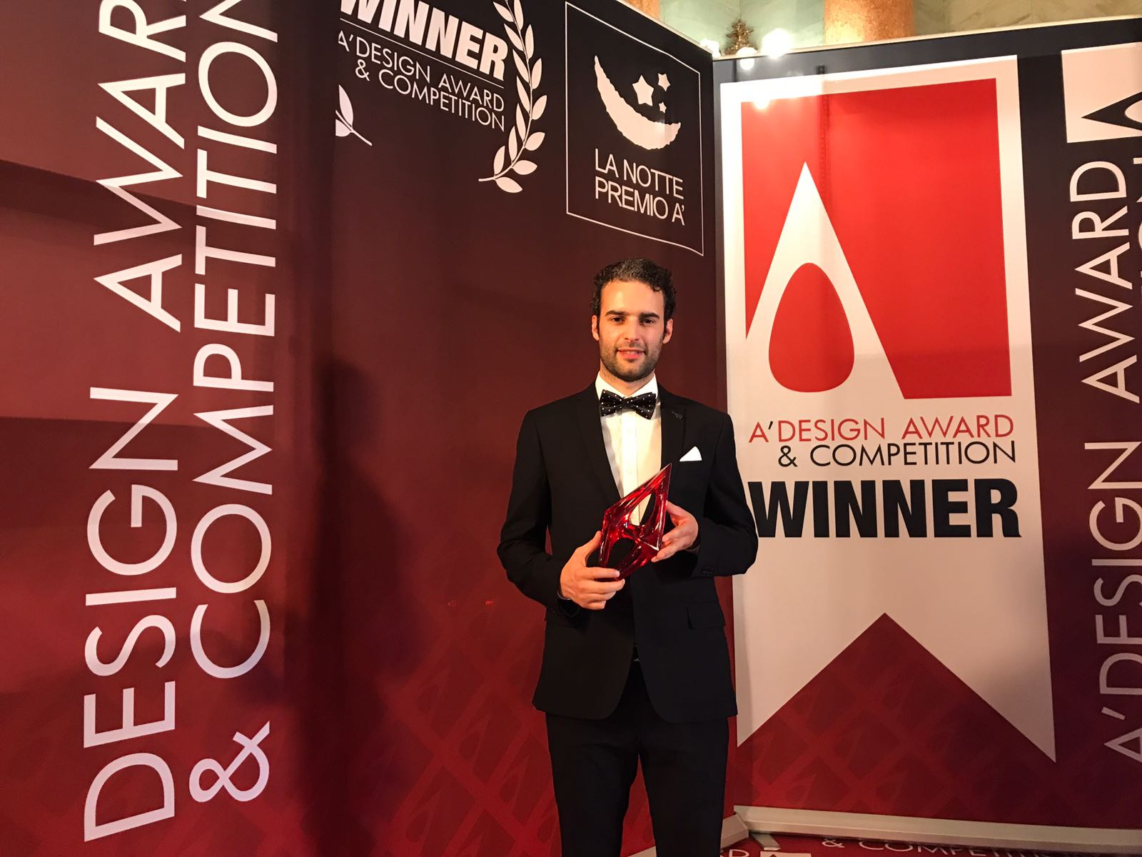 GlammFire premiada em Itália no A'Design Award & Competition