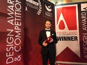 GlammFire received the A'Design Award & Competition in Italy