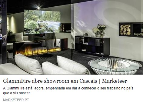 Marketeer noticia abertura do showroom da GlammFire