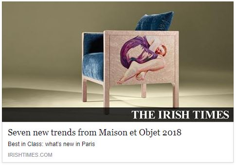 The Irish Times ranks GlammFire as one of seven trends that came out of M&O