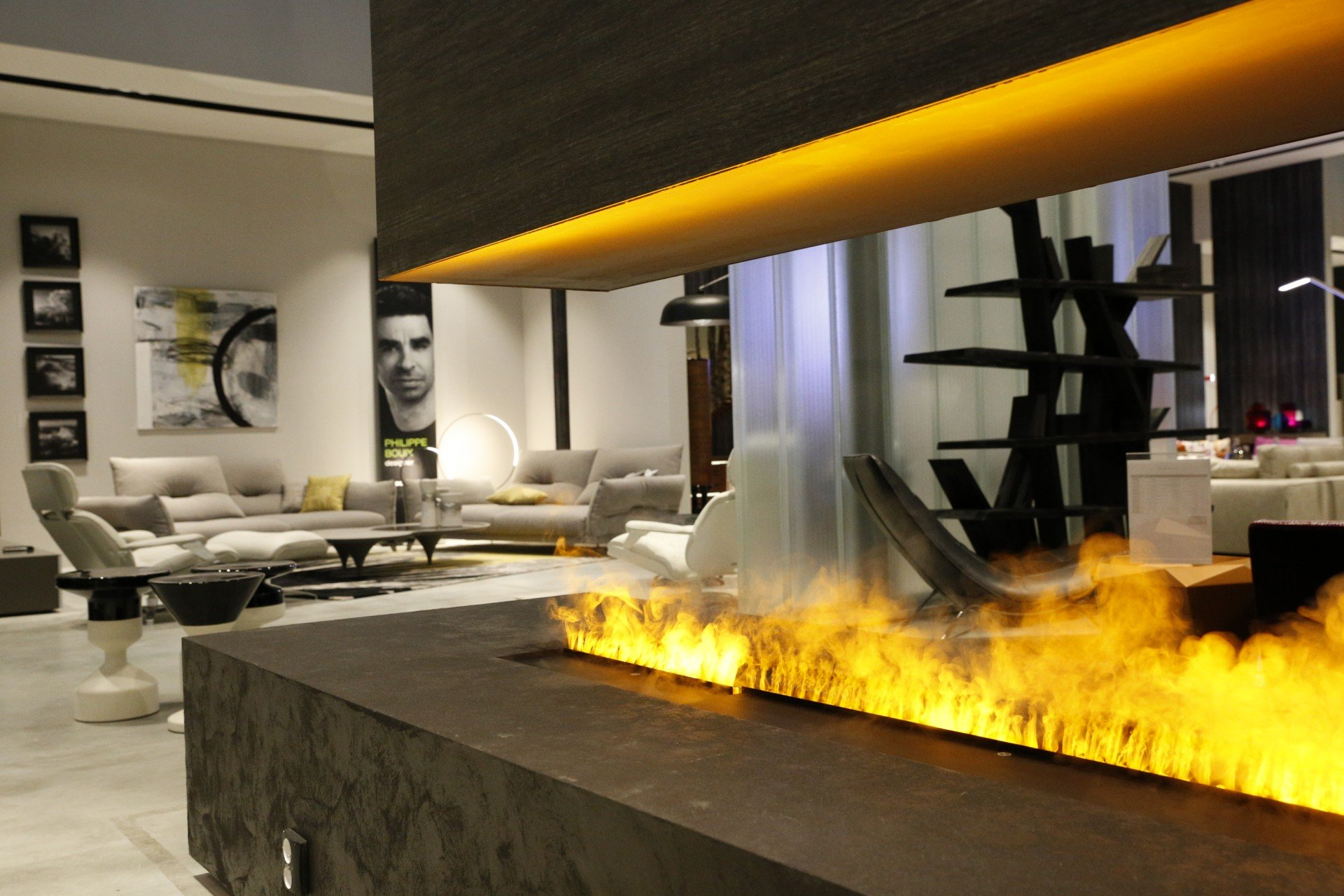 Glammfire presents at iSaloni Milano the magnificent illusion of false fire