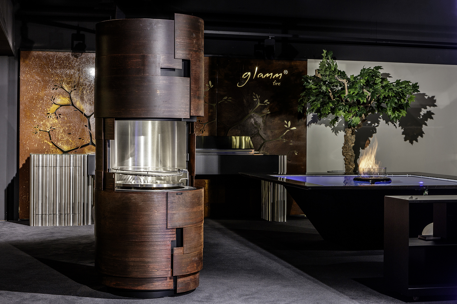 GlammFire presents luxury outdoor in New York