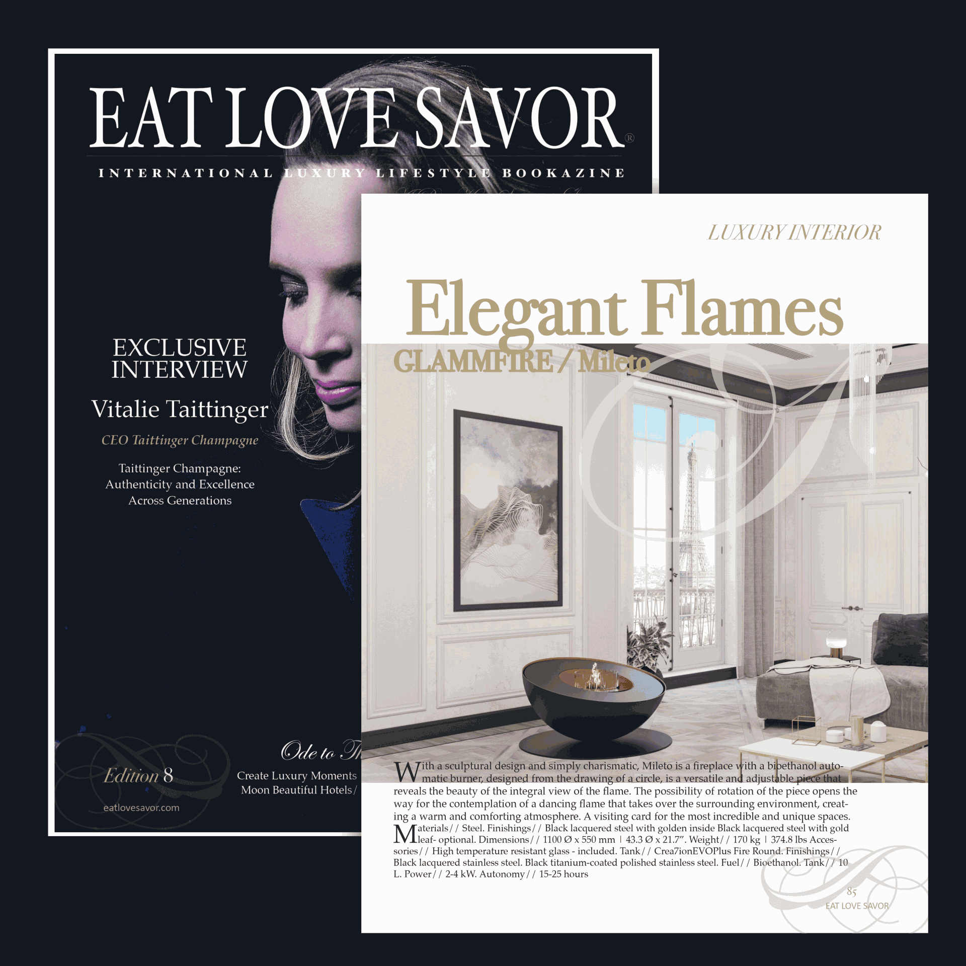 Eat Love Savor Magazine #8