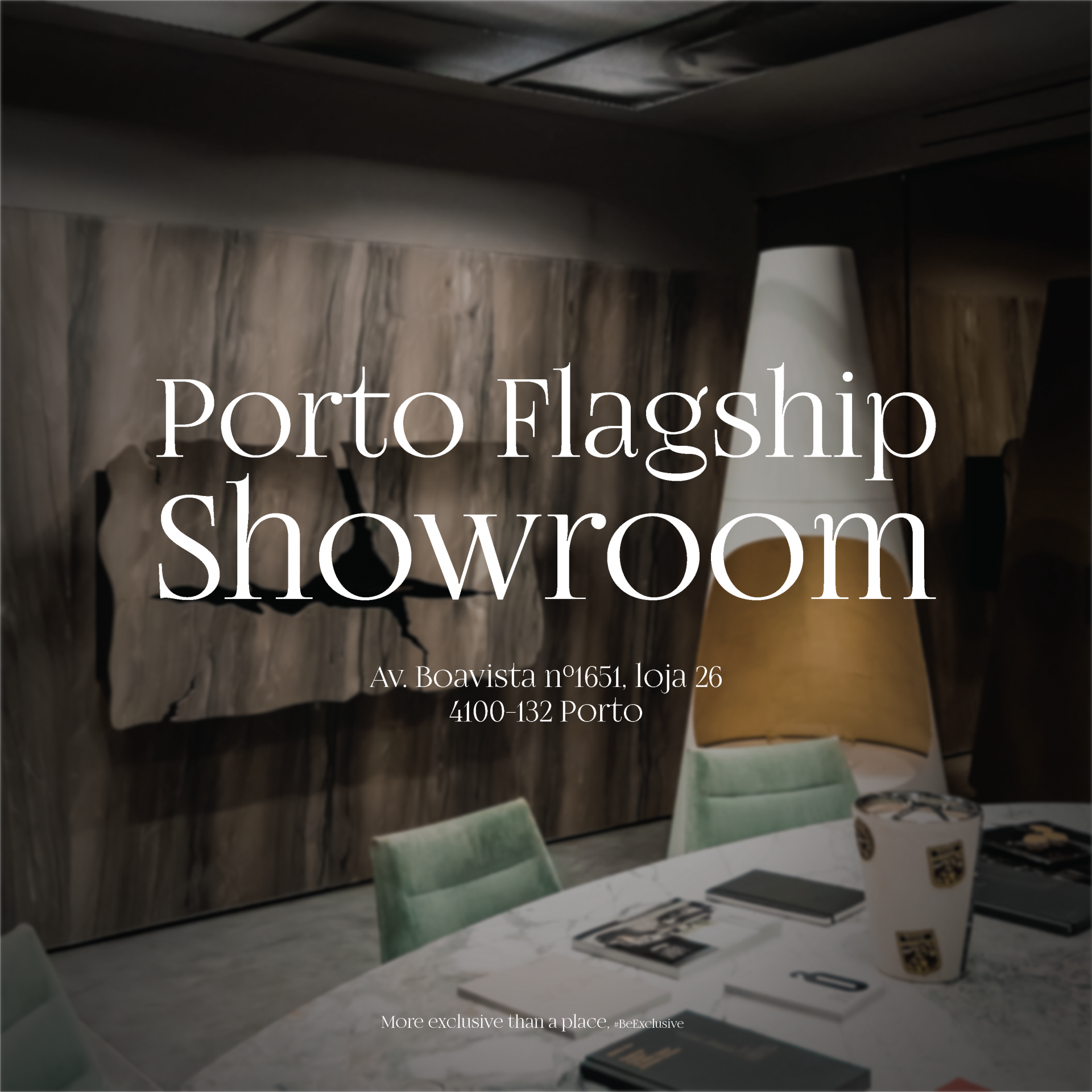 PORTO FLAGSHIP SHOWROOM