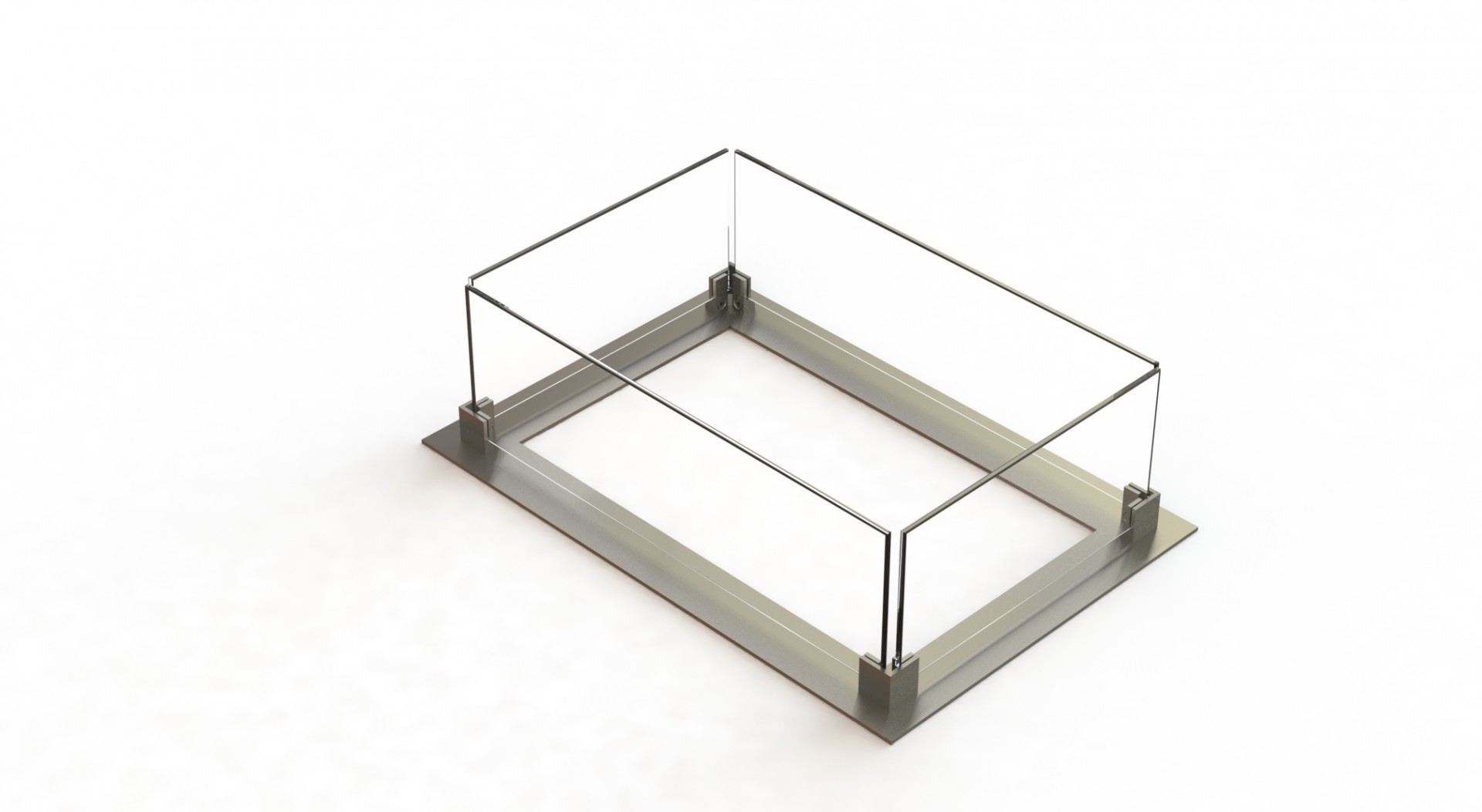 Glass support II + Glass
