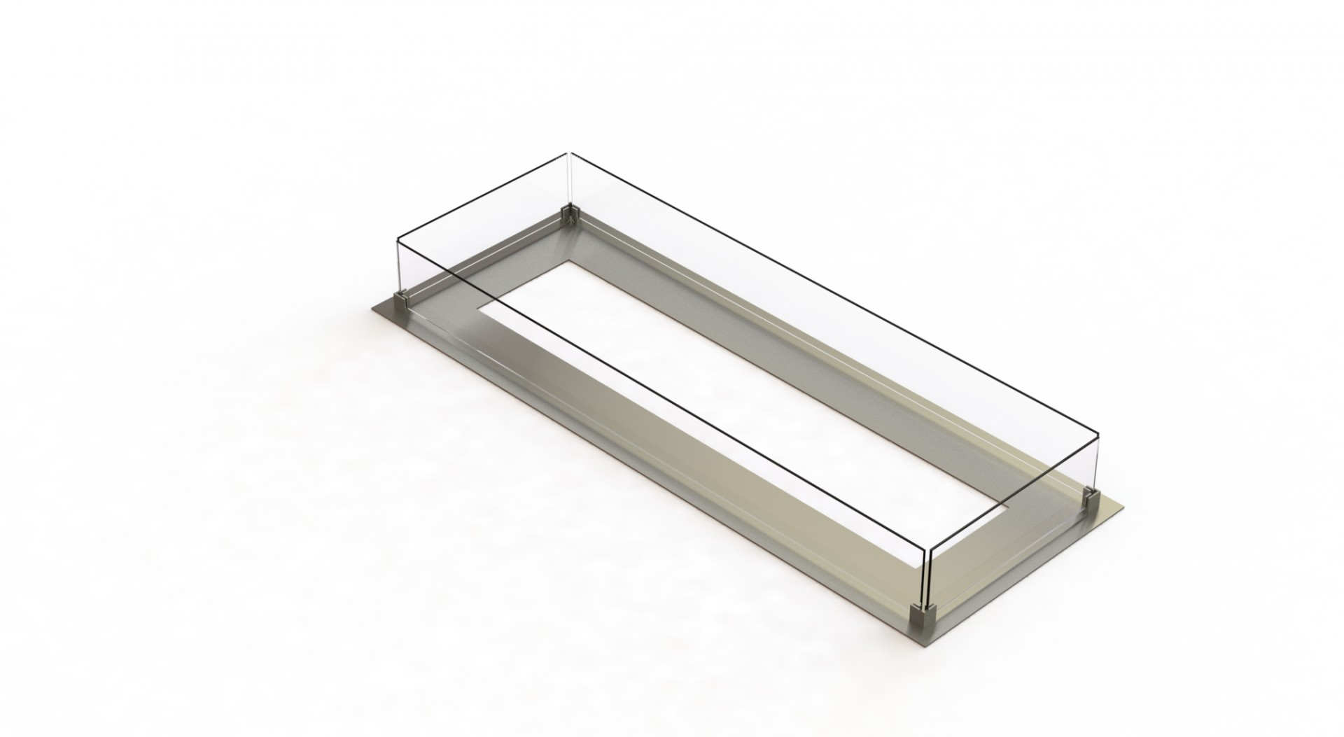 Glass support V + Glass