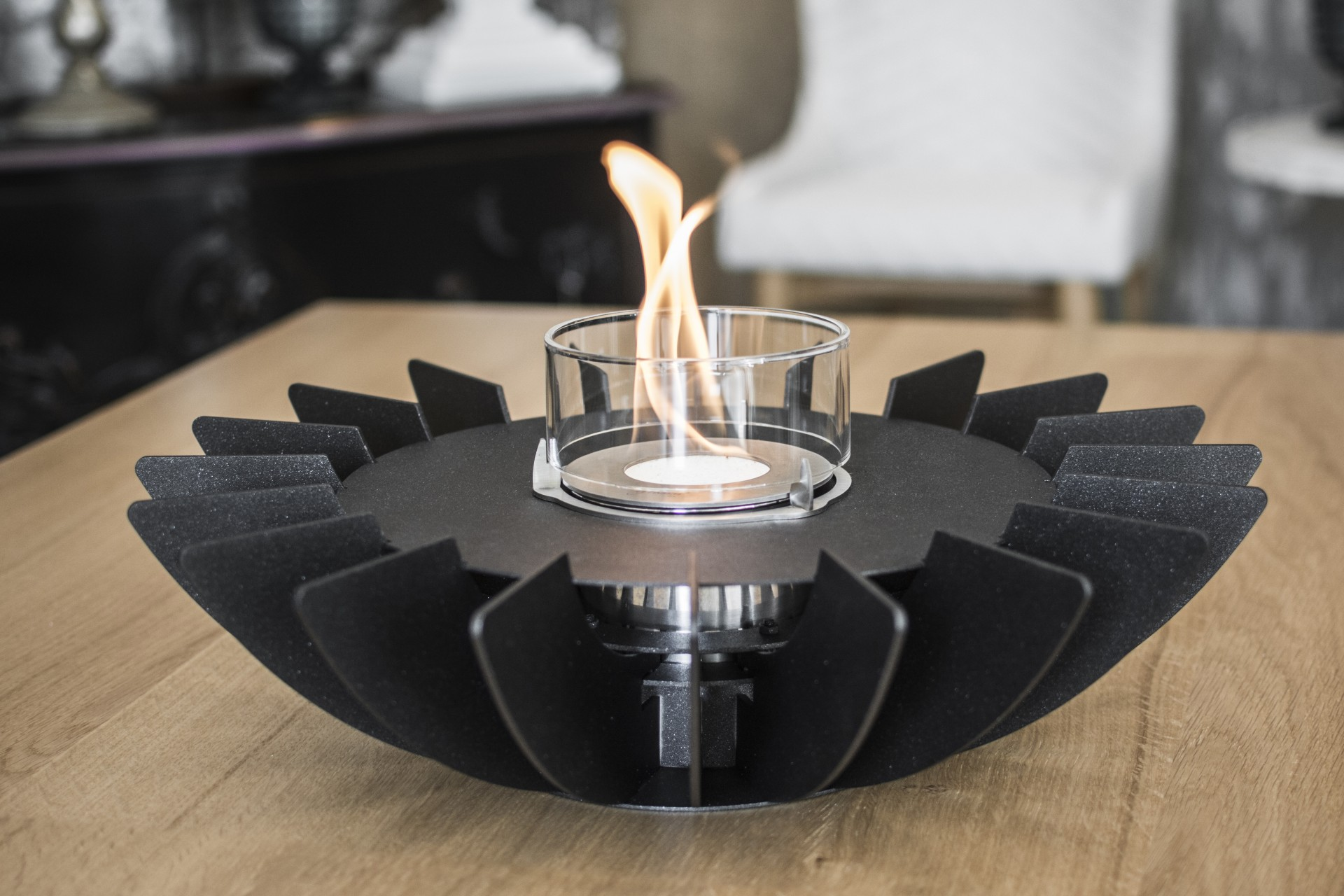 Tabletop Fireplaces | Nueva gama de chimeneas de mesa