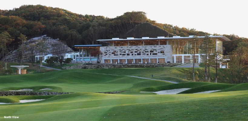 Haesley Nine Bridges Golf Club House